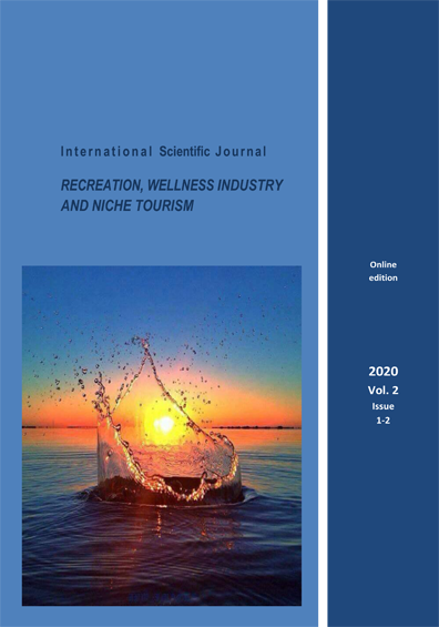 Journal of Smart Innovations on the Recreative & Wellness Industries and Niche tourism Issue 1-2 (January-December) 2020